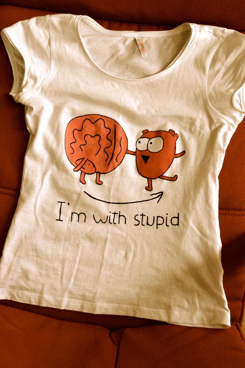 i'm with stupid…